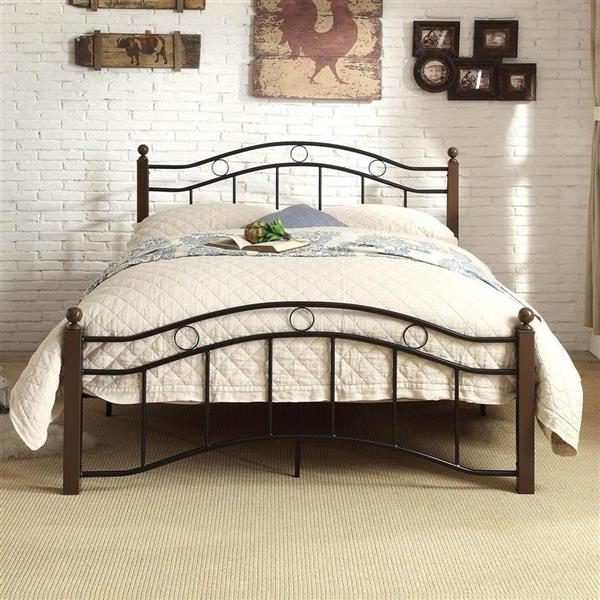 Homelegance Averny Black/Brown Full Platform Bed
