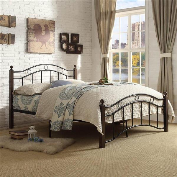 Homelegance Black 42-in X 79-in Platform Bed