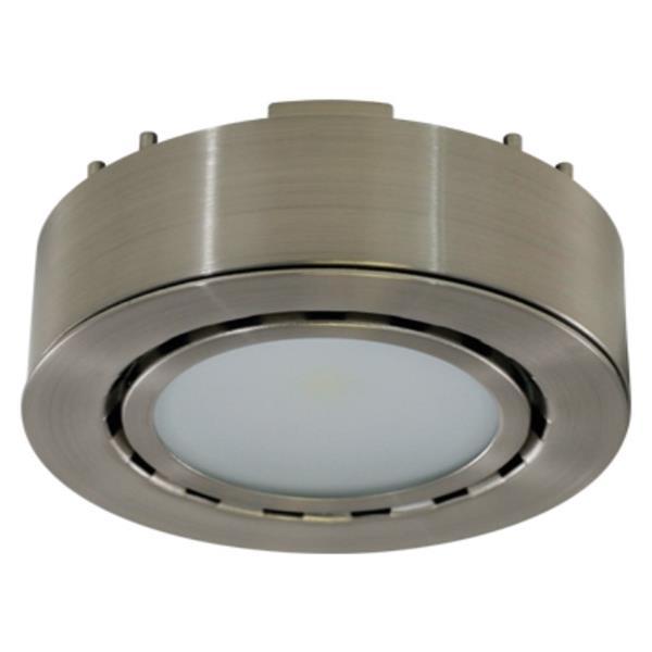 Liteline Corporation 4K 12V 2W Matte Nickel LED Single Puck Light