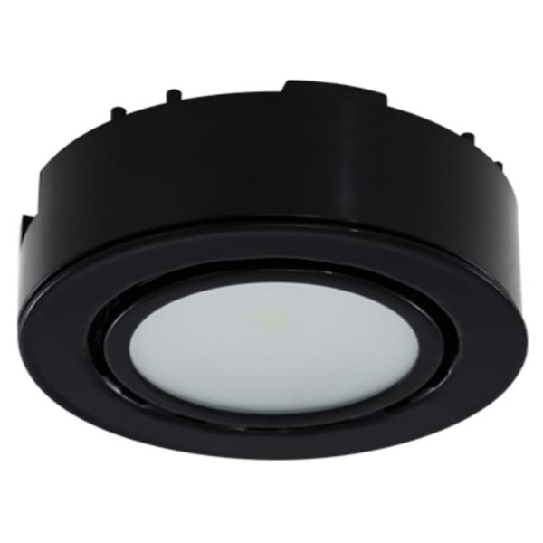 Liteline Corporation 4K 12V 2W Black LED Single Puck Light