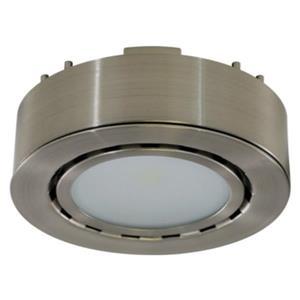 Liteline Corporation 3K 12V 2W Matte Nickel LED Single Puck Light