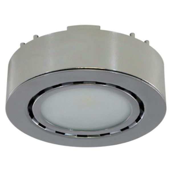 Liteline Corporation 12-Volts 2-Watts Chrome LED Single Puck Light