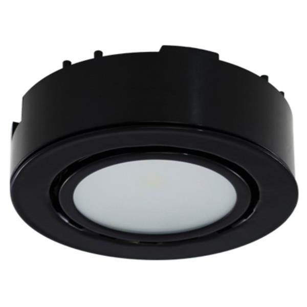 Liteline Corporation 3K 12V 2W Black LED Single Puck Light