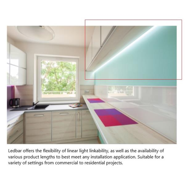 Liteline Corporation LED 22W 2700K 1900LM 58-In FluoroBar Light