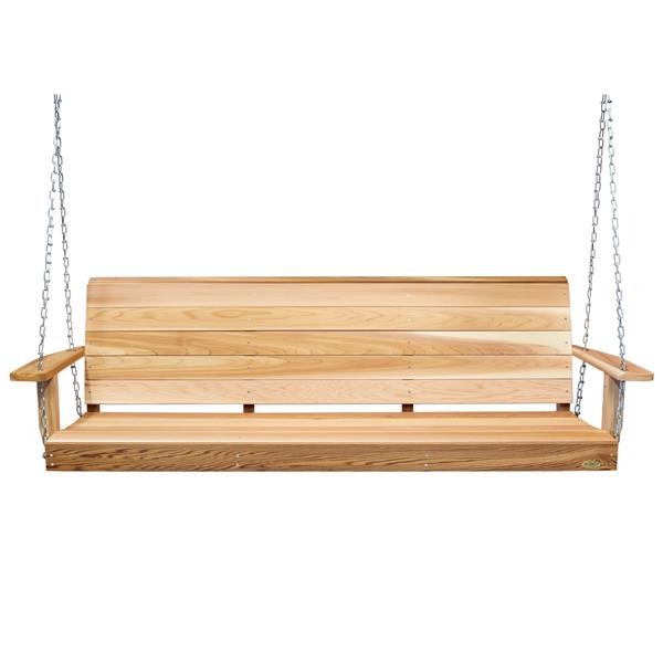 All Things Cedar 6-Ft Natural Porch Swing