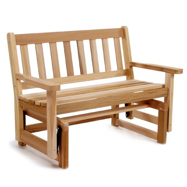 """Balancelle en cèdre All Things Cedar, 36""""x 48"""""""