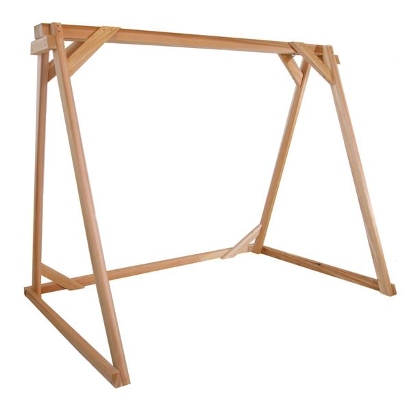 All Things Cedar 68-In x 90-In x 48-In Swing A-Frame