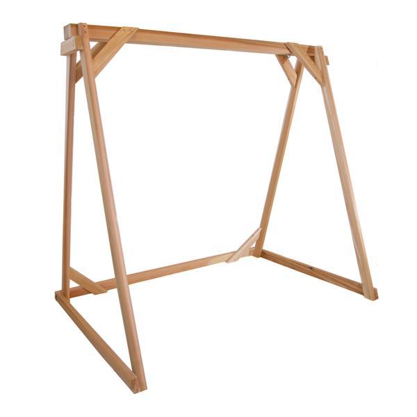 All Things Cedar 68-In x 70-In x 48-In Swing A-Frame