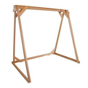 Cadre pour balaçoire en bois, 6 pieds
