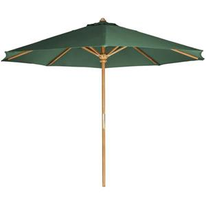All Things Cedar Green Teak  Patio Umbrella