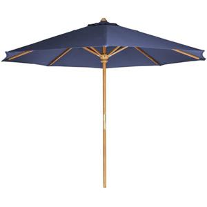 All Things Cedar Blue Teak Umbrella