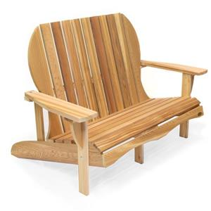 All Things Cedar 54-in Love Seat