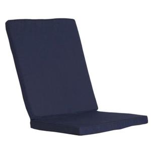 All Things Cedar Navy Blue Folding Chair Cushion