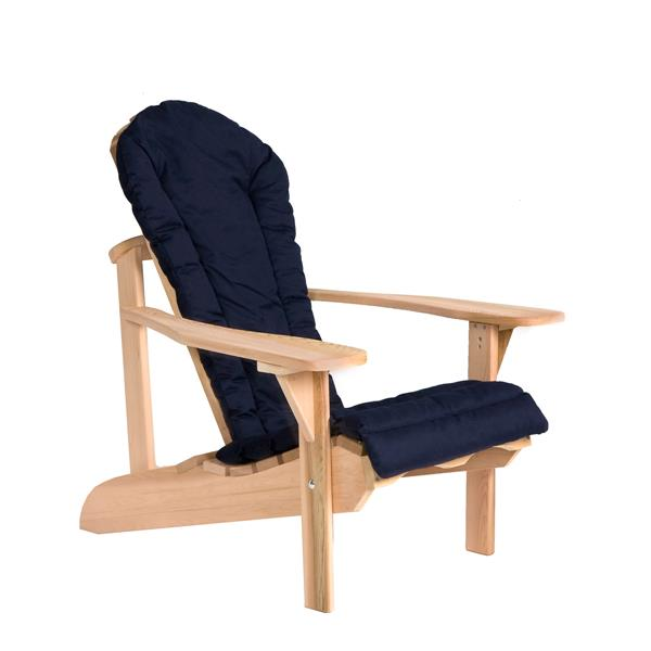 All Things Cedar Navy Blue Adirondack Chair Cushion