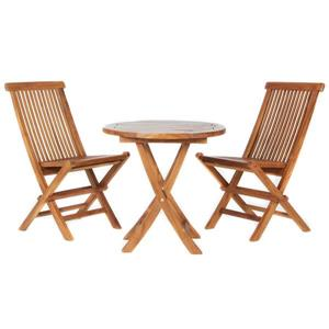 All Things Cedar 3 pc Bistro Folding Chair Set