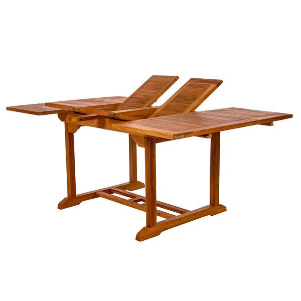 Ensemble de table et chaises empilables, 5 mcx