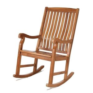 All Things Cedar Teak Rocker Chair