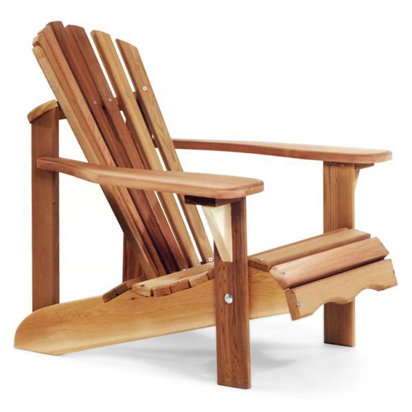 All Things Cedar 23.5-in x 26-in Clear Western Red Cedar Child Adirondack Chair