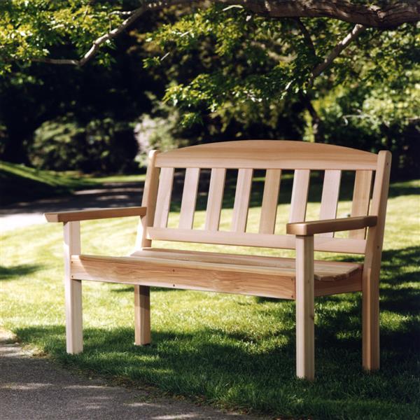 "Banc de Jardin All Things Cedar, 52"""