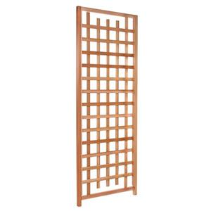 All Things Cedar Natural Cedar Trellis Screen Panel