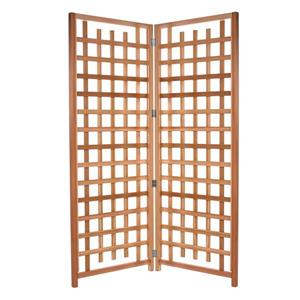 All Things Cedar Natural Cedar Hinged Trellis Screen