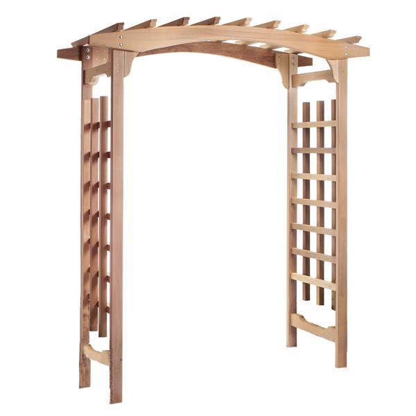 All Things Cedar Natural Cedar Decorative Arbor