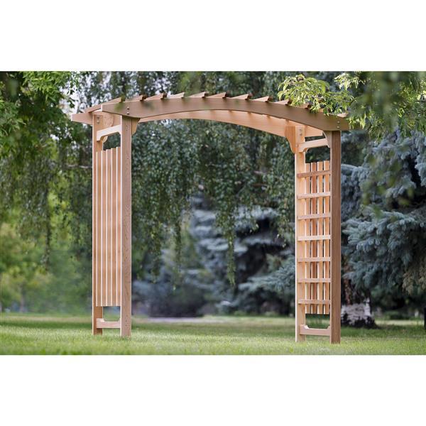All Things Cedar Natural Cedar Wedding Arbor