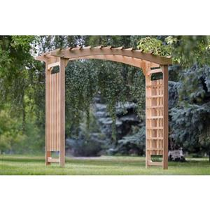 "Tonnelle de mariage All Things Cedar, 94""x 47""x 87"""