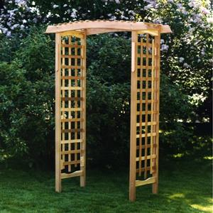 All Things Cedar Natural Cedar Garden Arbor