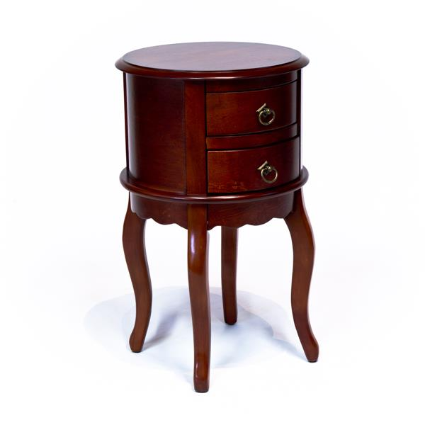 All Things Cedar Cherry Finish Console with  Drawers