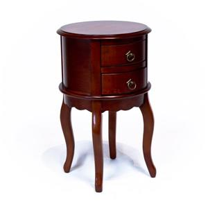Console with Drawers - Cherry finish