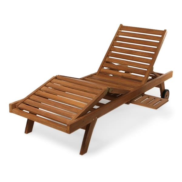 All Things Cedar Teak  Lounge Chair