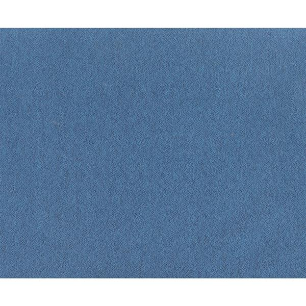 Tabouret Billy de Zuo Modern, 14,4 po x 14,4 po x 19,3 po, bleu, ens. de 2