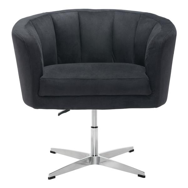 Zuo Modern Wilshire Occasional Chair 32.1 x 26 x 31.5-in Black