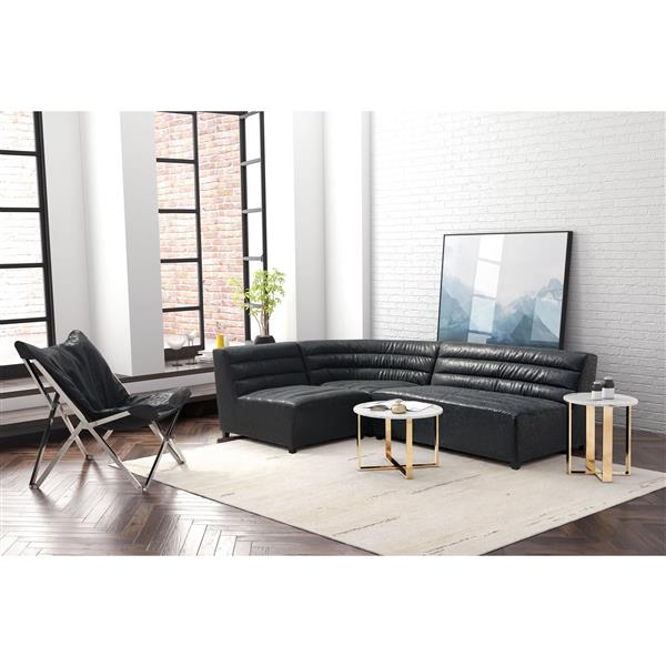 Zuo Modern Soho Single Chair 32.7 x 41.3 x 29.1-in Black