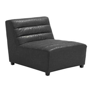 Zuo Modern Soho Accent Chair - 32.7-in x 41.3-in - Black