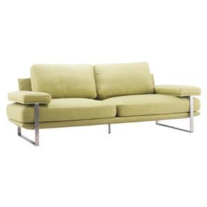 Sofa Jonkoping de Zuo Modern, 86,6 po x 37,4 po x 33,5 po, vert