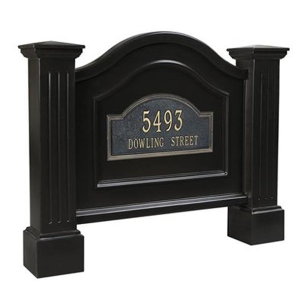 Mayne Nantucket Address Sign - Black