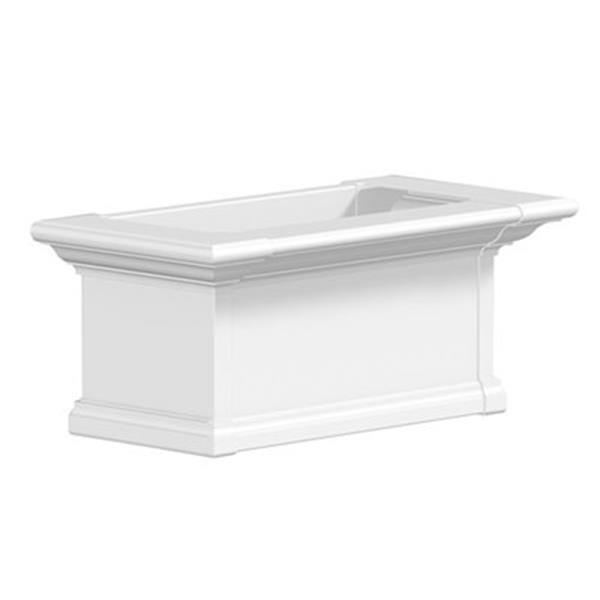 Mayne Yorkshire 2-ft White Window Box,