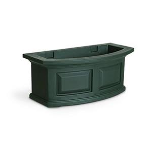 Mayne Nantucket 2-ft Green Window Box