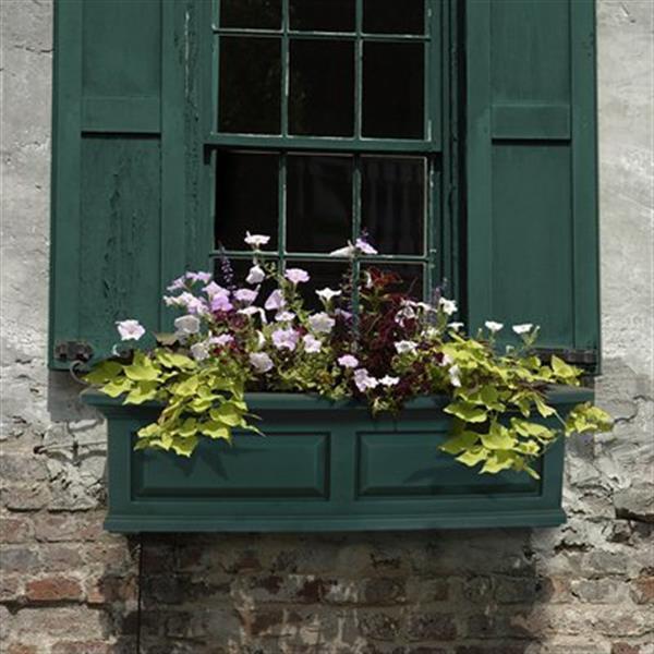 Mayne Nantucket Window Box - Green