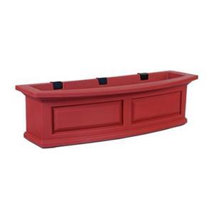 Mayne Nantucket 3-ft Red Window Box