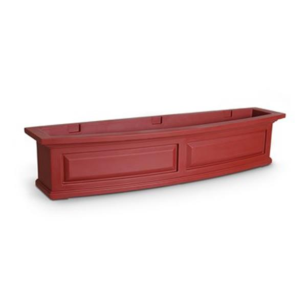Mayne Nantucket 4-ft Red Window Box