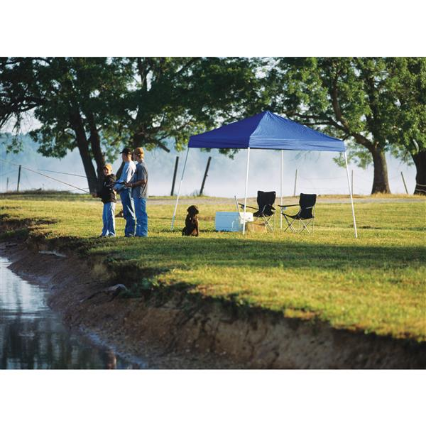 ShelterLogic Pop-Up Canopy HD® Slant Leg - 10-ft x 10-ft - Blue