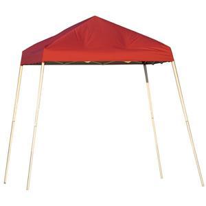 ShelterLogic Pop-Up Canopy HD® Slant Leg - 8-ft x 8-ft - Red