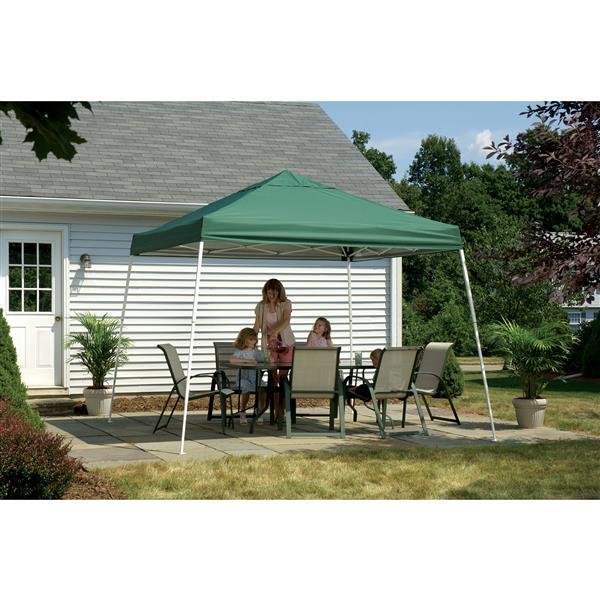 ShelterLogic Pop-Up Canopy HD® Slant Leg - 12-ft x 12-ft - Green