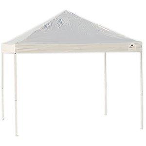 ShelterLogic HD Series Square 10-ft x 10-ft White Straight Leg Pop-UP Canopy