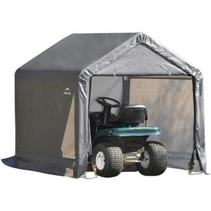 Shed-in-a-Box® Storage Shelter - 6' x 6' - Grey