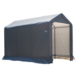 Shed-in-a-Box 6 x 10 x 6 ft. 6 in. Gris