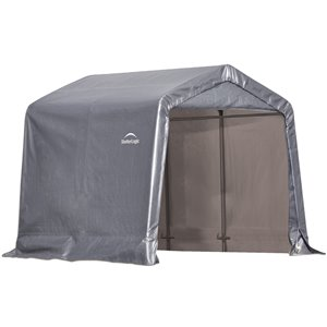 Hangar portable gris Shelter Logic de 8 pi x 8 pi